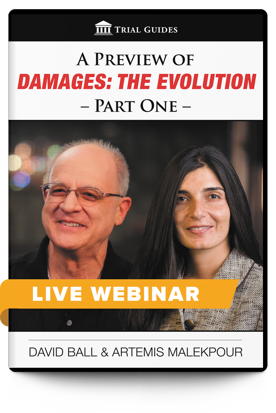 A Preview of Damages: The Evolution, Part 1 - Live Webinar