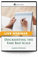 Discrediting the Fake Bad Scale - Live Webinar