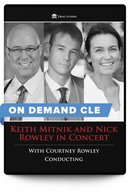 Keith Mitnik and Nick Rowley in Concert with Courtney Rowley Conducting - On Demand CLE