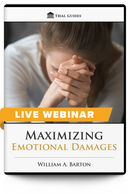 Maximizing Emotional Damages - Live Webinar