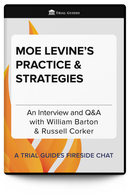 Moe Levine's Practice and Strategies
