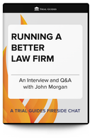 Running a Better Law Firm