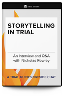 Storytelling in Trial