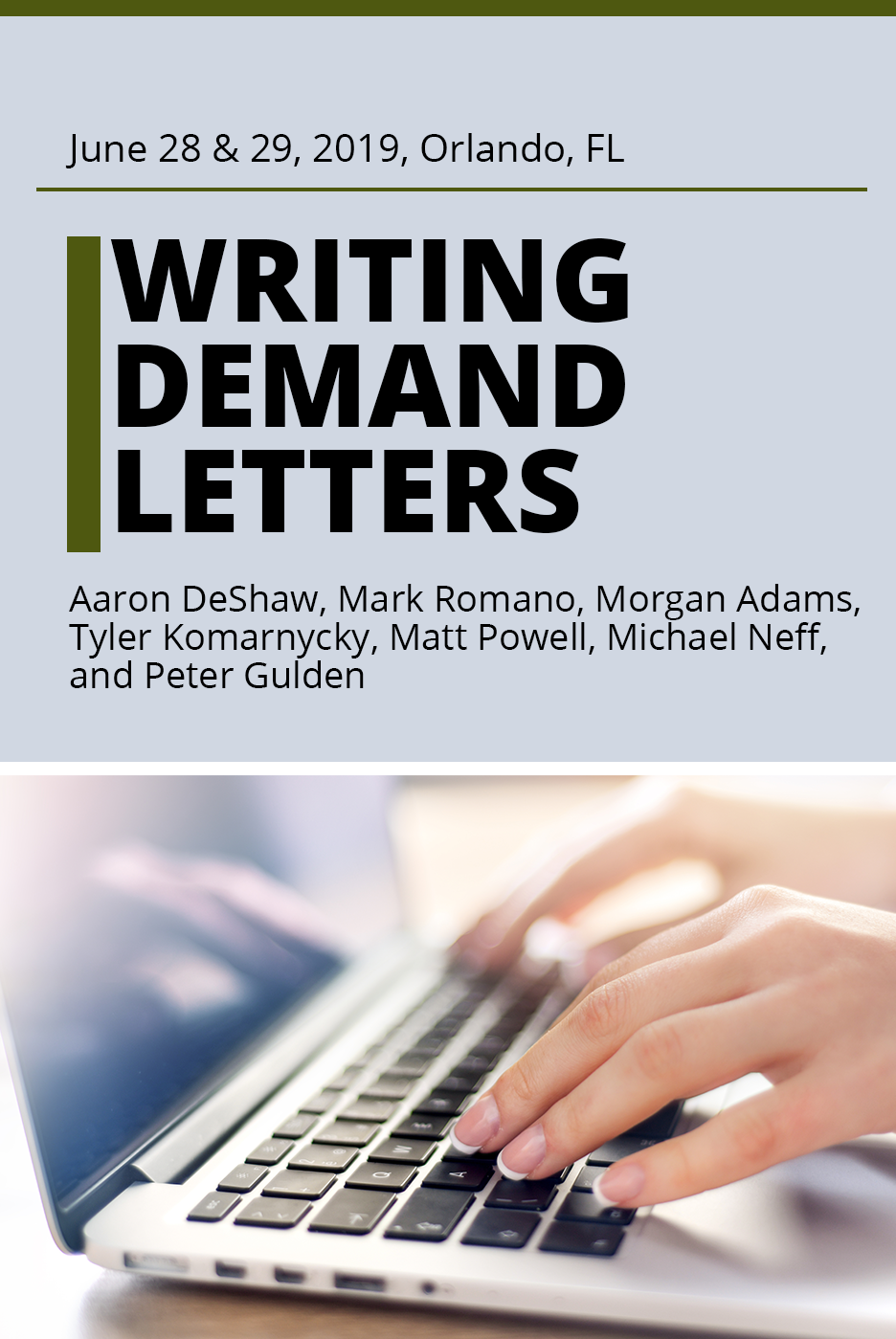 Writing Demand Letters