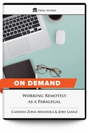 Working Remotely as a Paralegal - On Demand