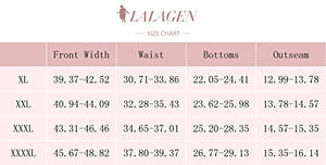 Lalagen Women's Plus Size Strappy High Waist Bikini Two Piece Swimsuit Tankini Print XL - Azura Rose
