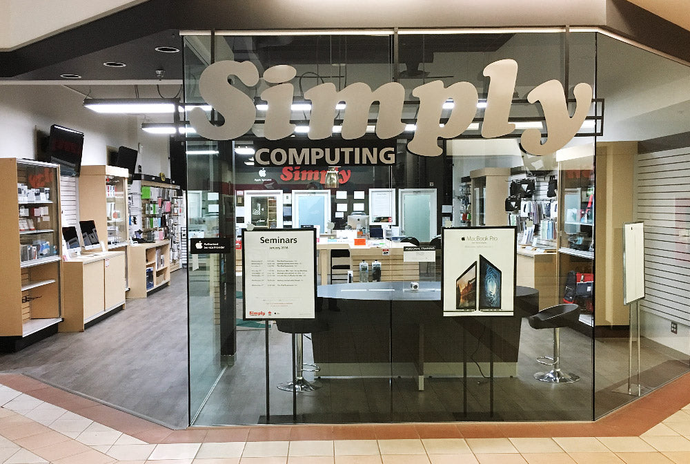 Simply Computing Retail Store Kamloops