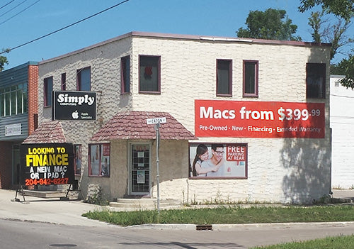 Simply Computing Retail Store Winnipeg