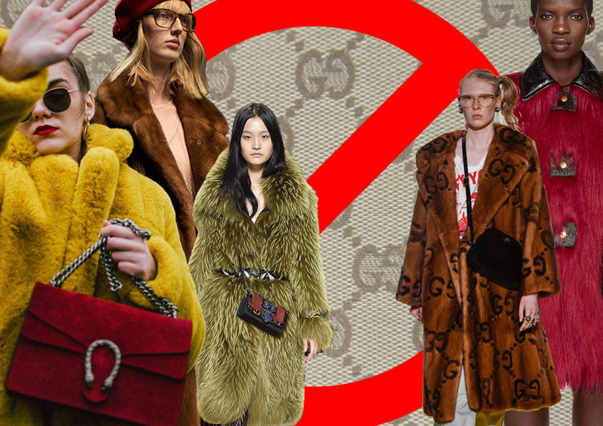 GUCCI BANS FUR: 'IT'S NOT MODERN'