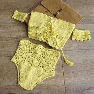Huntington Crochet Bikini