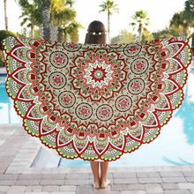 Summer Mandala Beach Towel