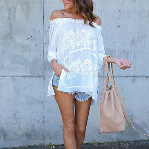 Autumn Lace Blouse