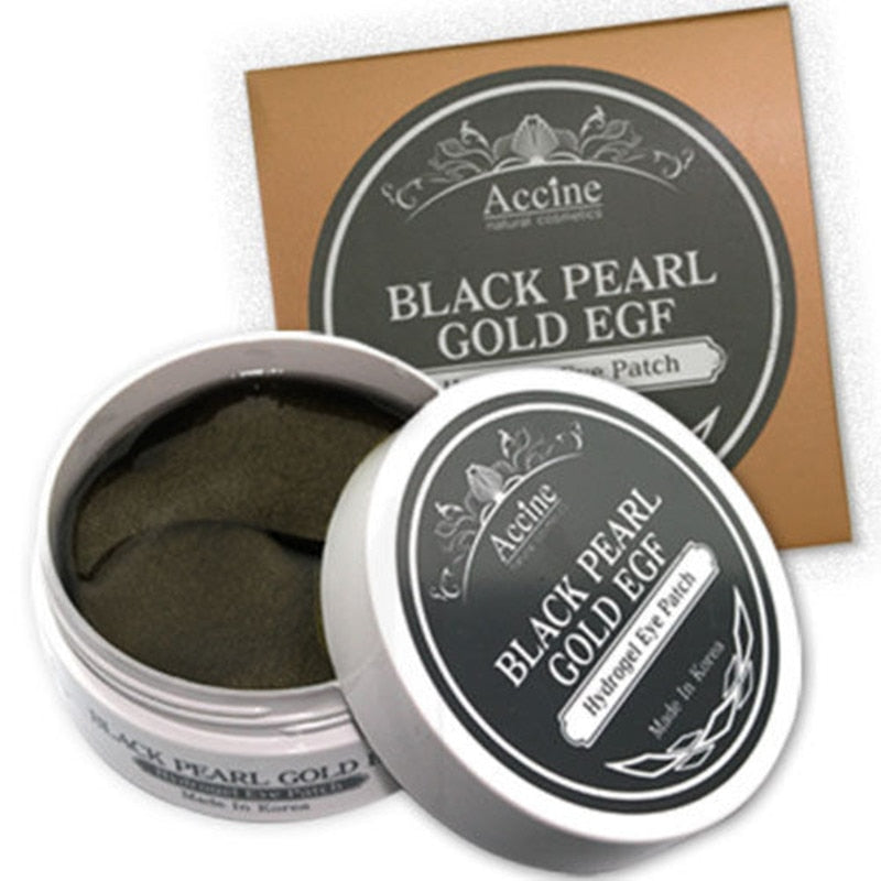 Black Pearl Gold Hydrogel Eye Patches