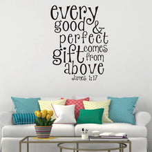 James 1:17 Wall Sticker