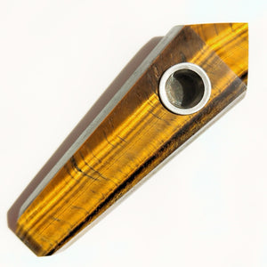 Tiger Eye Smoke Pipe