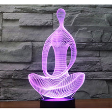 LED Meditation Lamp