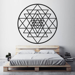 Sri Yantra Wall Sticker