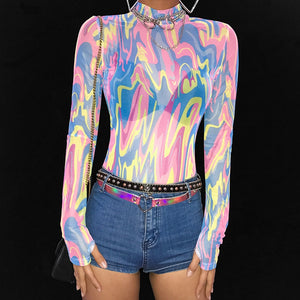 Festival Transparent Bodysuit