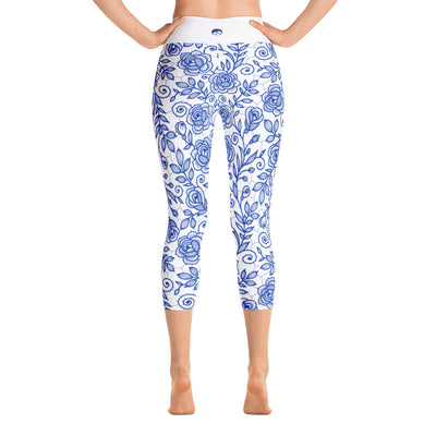 Roses Crops, Blue & White