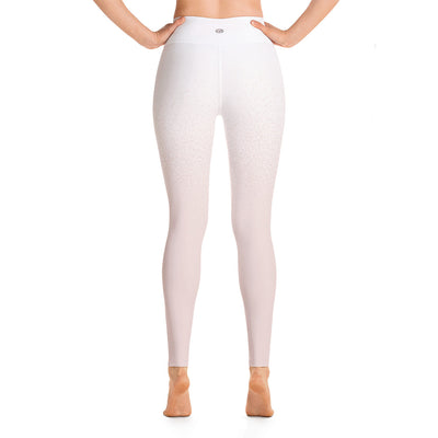 Mantra Pants, White & Pink