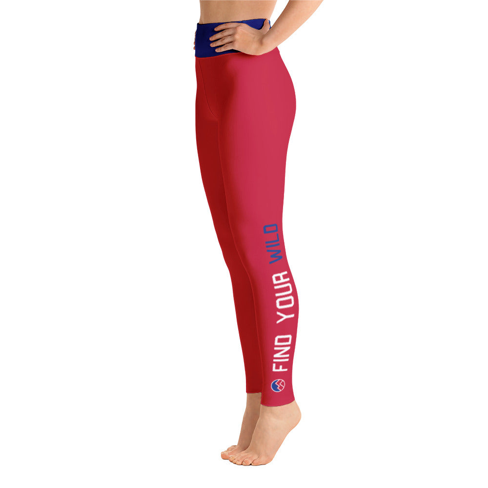 Find Your Wild Pants, Red & Blue