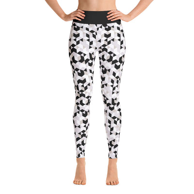 Cubed Pants, Black & White