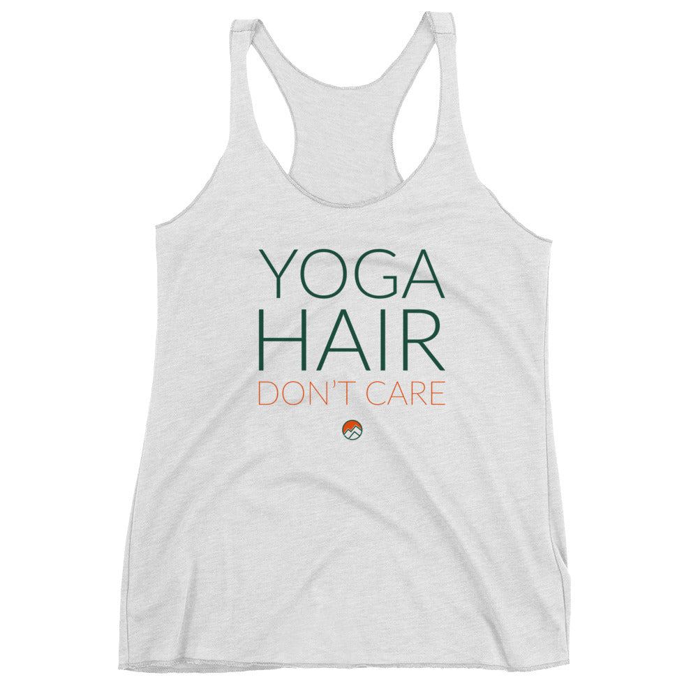 Yoga Hair Don't Care Racerback