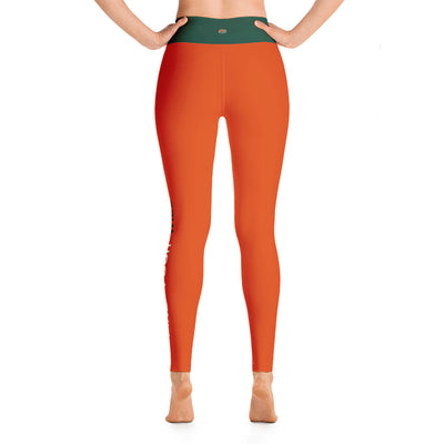 Find Your Wild Pants, Orange & Grey