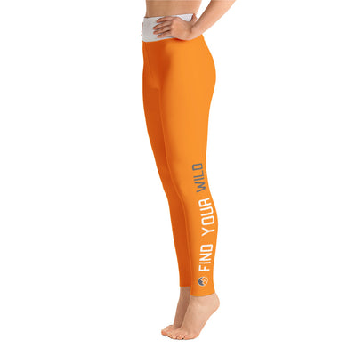 Find Your Wild Pants, Orange & White