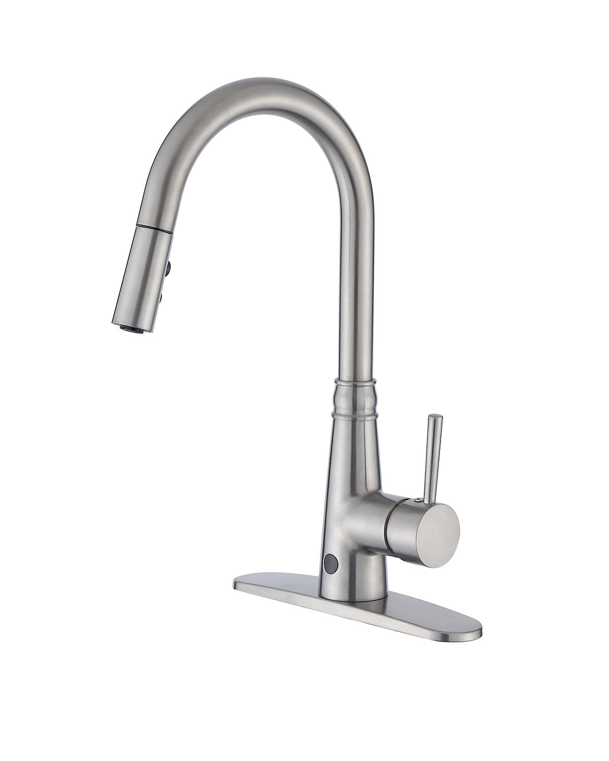 Buy-Hive Sensor Kitchen Faucet Touchless Sprayer Tap Pull-Down ...