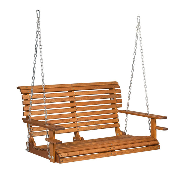 intended frame porch for a stylish amish regarding swing with fantasy wood pine