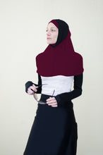 Hi Tech Performance Hijab (Maroon with Black)