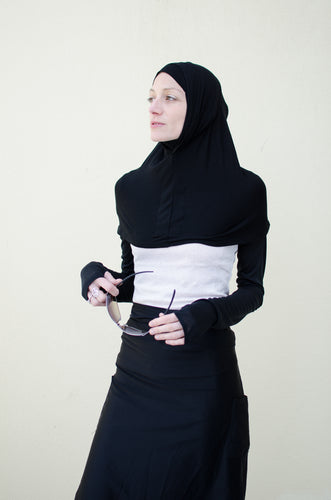 High Tech Performance Hijab _ Black