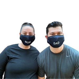Pair of Mom and Dad Masks