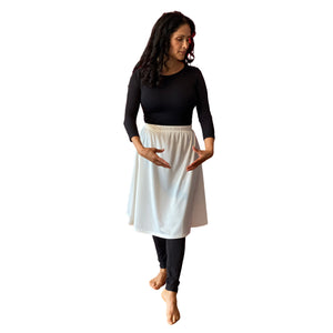Athletic Performance Skirt (White)