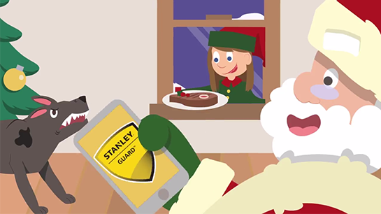 Holiday Card Stanley Security - Internal Communication Video - Ovation Solutions