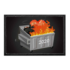2020 Dumpster Fire - Removable Patch