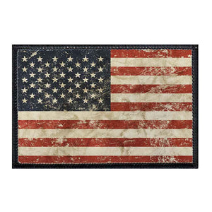 American Flag - Distressed -  Removable Patch