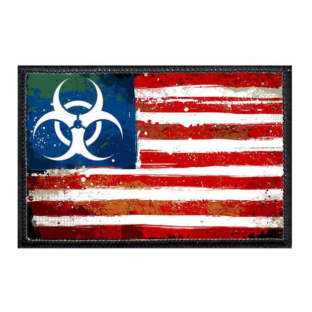 American Flag - Zombie Outbreak - Toxic - Patch 1