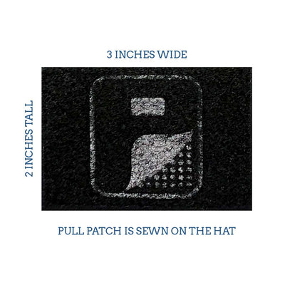 Custom Removable Patches - Pull Patch - Removable Patches For Authentic Flexfit and Snapback Hats