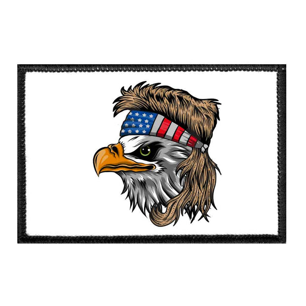Eagle Mullet - Removable Patch 1