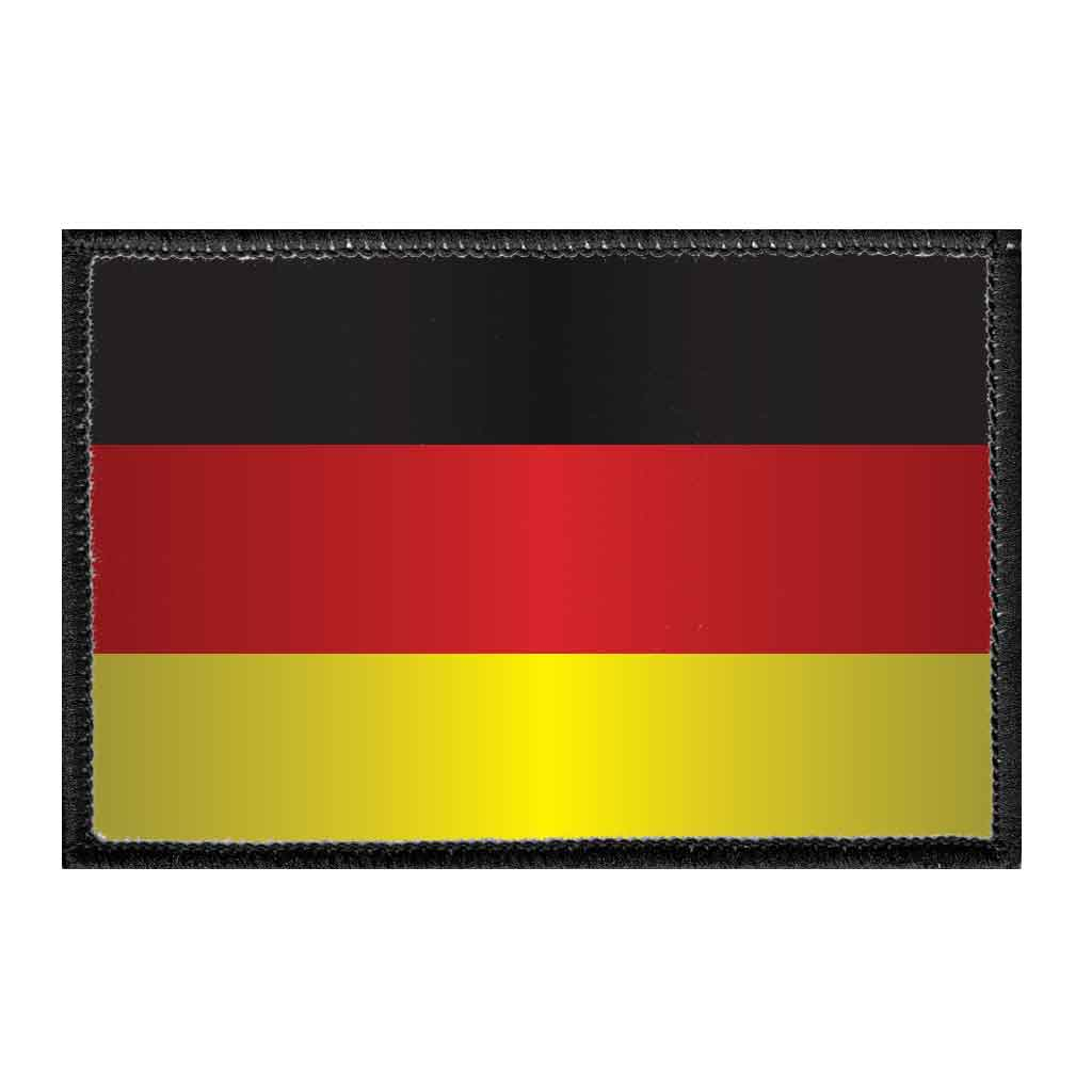 Germany Flag - Color - Removable Patch - Pull Patch - Removable Patches For Authentic Flexfit and Snapback Hats