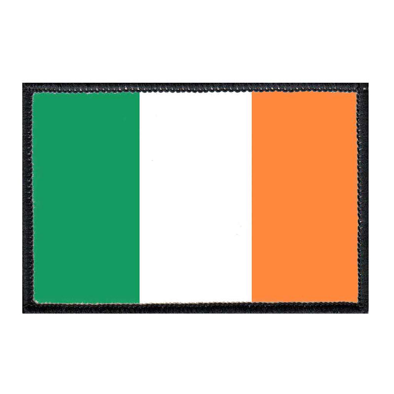 Ireland Flag - Removable Patch - Pull Patch - Removable Patches For Authentic Flexfit and Snapback Hats