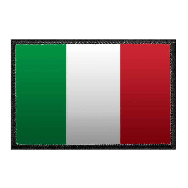 Italy Flag - Color - Removable Patch 1