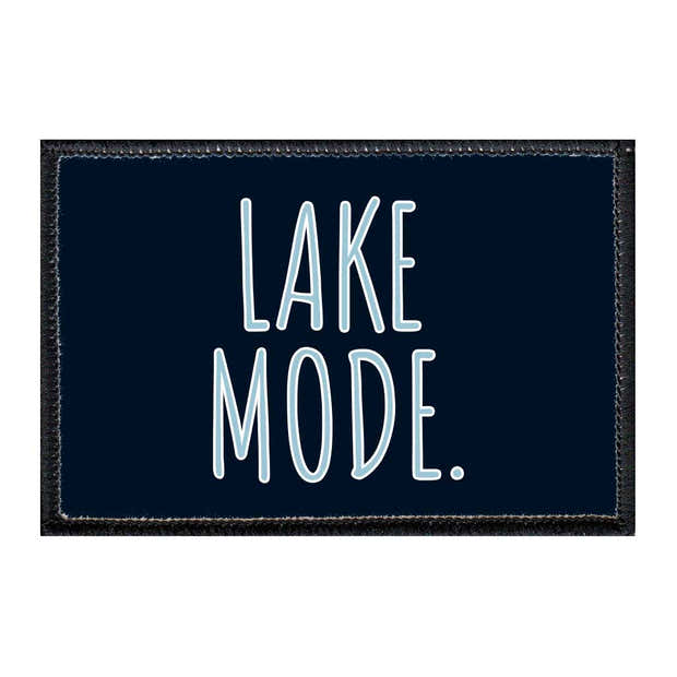 Lake Mode - Removable Patch 1