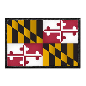 Maryland State Flag - Color - Removable Patch