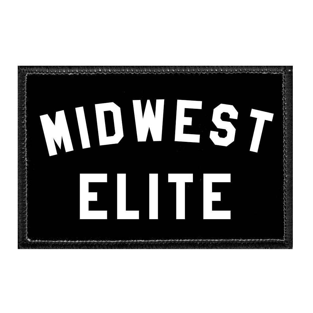 Midwest Elite - Removable Patch - Pull Patch - Removable Patches For Authentic Flexfit and Snapback Hats