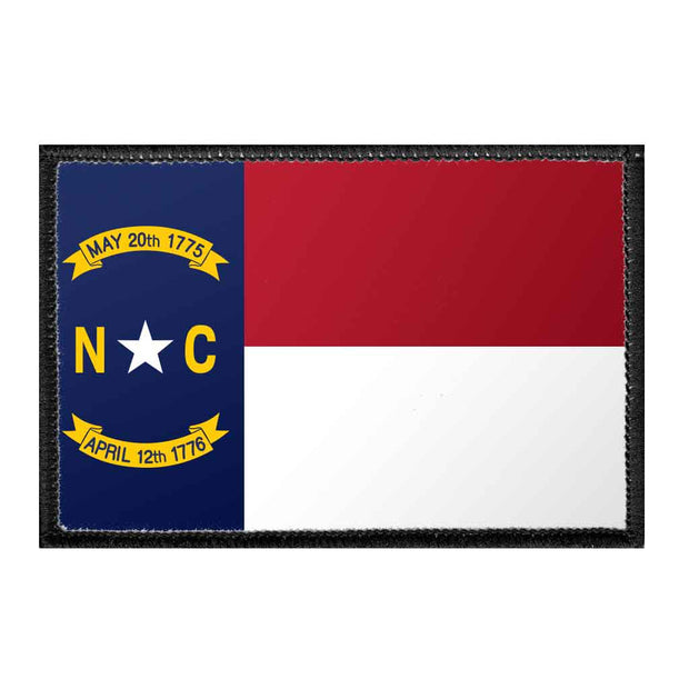 North Carolina State Flag - Color - Removable Patch 1