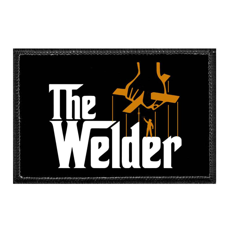 The Welder - Removable Patch - Pull Patch - Removable Patches For Authentic Flexfit and Snapback Hats