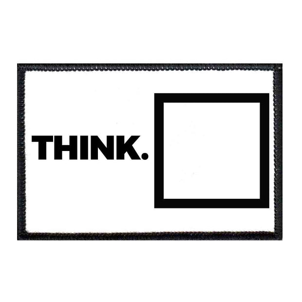 Think Outside The Box - Removable Patch 1